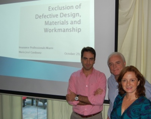 Daniel, Ricardo and María José from Nationale Suisse Miami