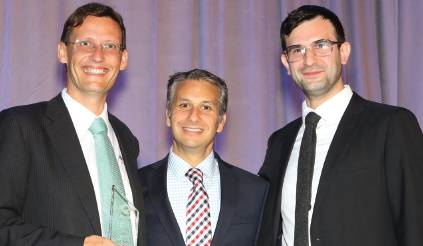 David Roig picks up the award for Latin America Insurance and Reinsurance Best Law Firm