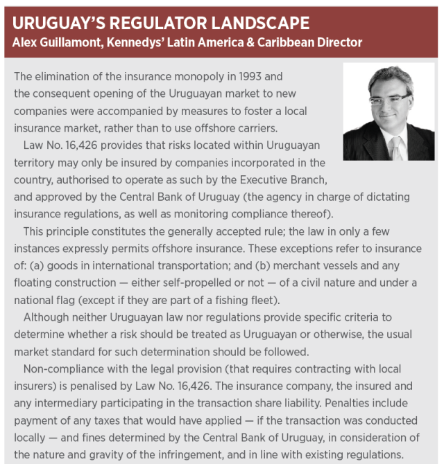 Uruguay Insurance Lawyer