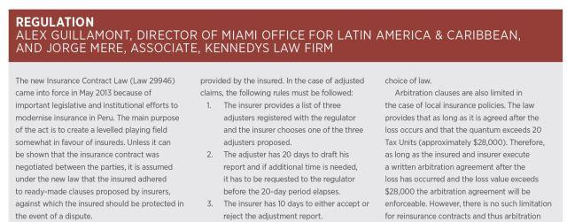 Peru Insurance Law 2