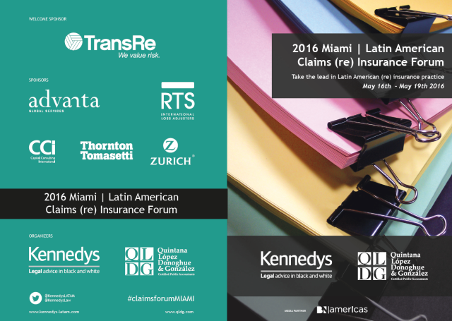 2016 Miami Latin American Claims Reinsurance Forum