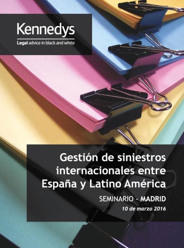 Seminario Madrid Gestion de Siniestros España LATAM 1